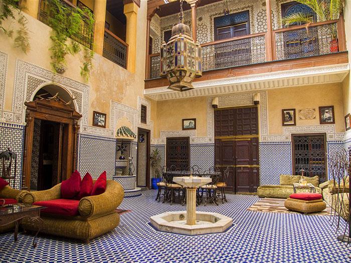 Tiled Riad