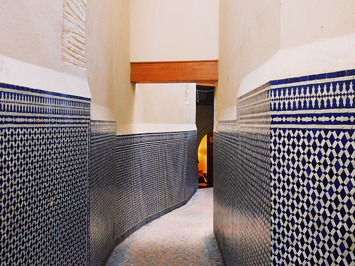 Tiled Corridor