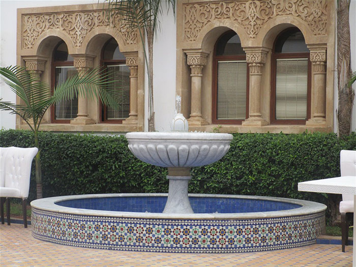 Tiled Fountain